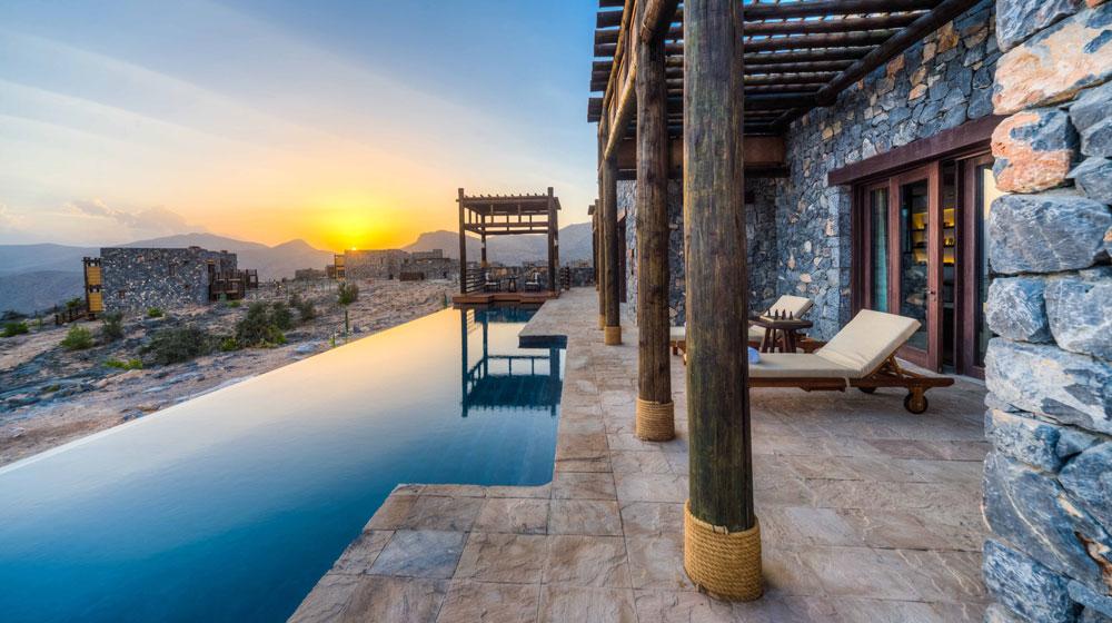 Un resort sin palabras: El JabalAkhdar