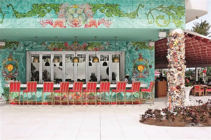La era dorada de glamour: El Faena Hotel MiamiBeach