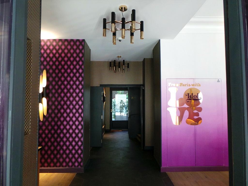 El Idol hotel en París: La emoción deldiseño