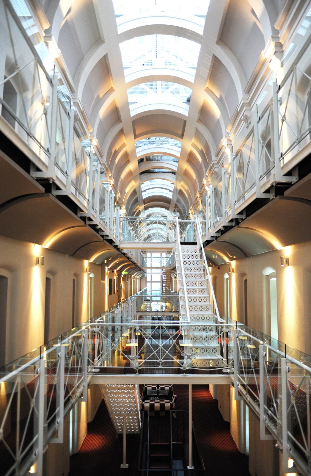 La prisión que fué convertida en hotel: Malmaison Oxfordhotel