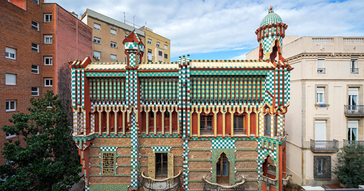 Casa Vicens: Otra magnífica obra deGaudí