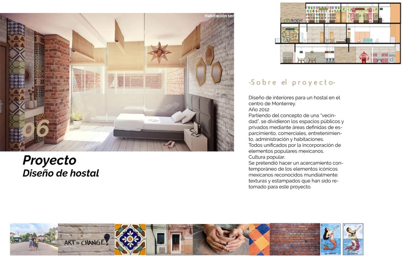 Diseño hostal